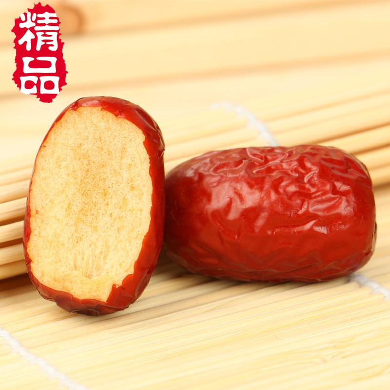 克孕妇零食小红枣熬粥煲汤泡茶 500 新疆特产特级免洗红枣若羌灰枣