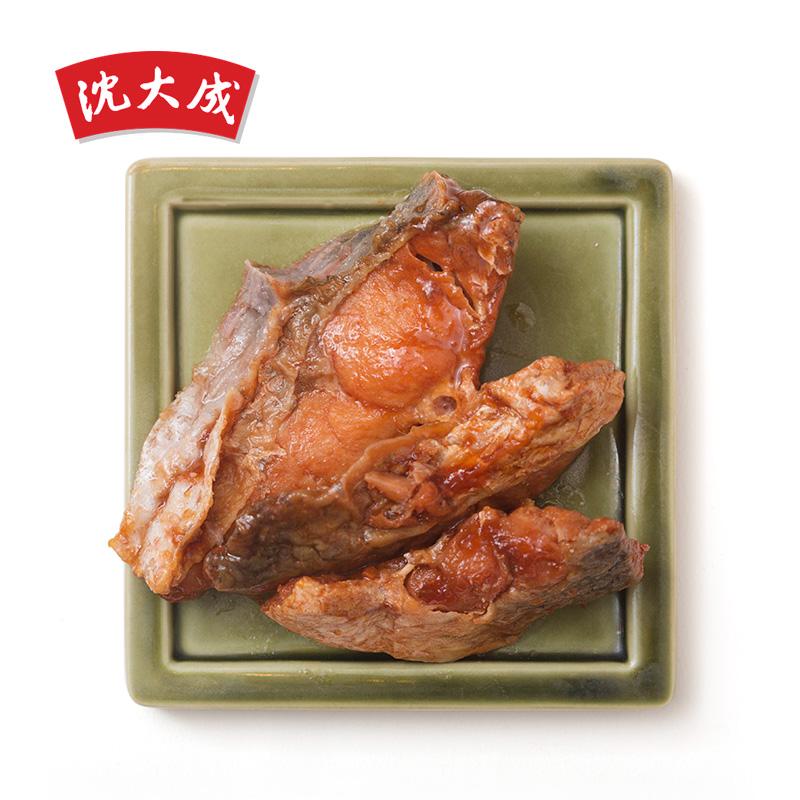 上海特产中华老字号沈大成上海熏鱼 肉类熟食即食食品 油爆鱼