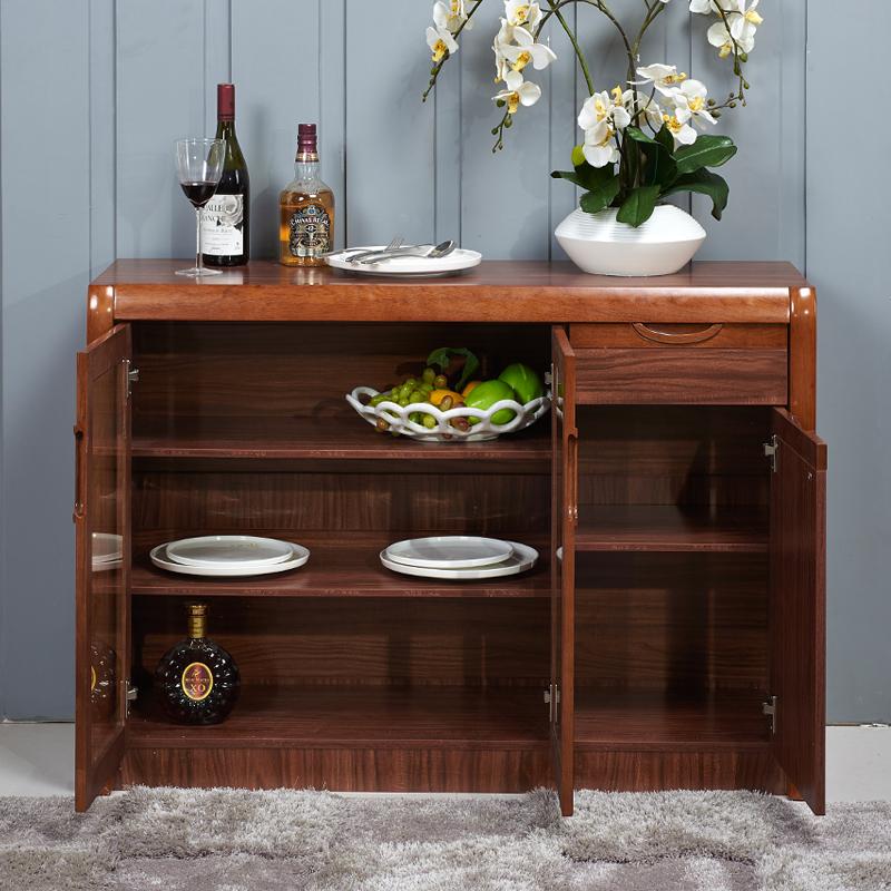 实木餐边柜酒柜储物柜茶水柜客厅柜子现代简约碗柜厨房柜餐柜边柜