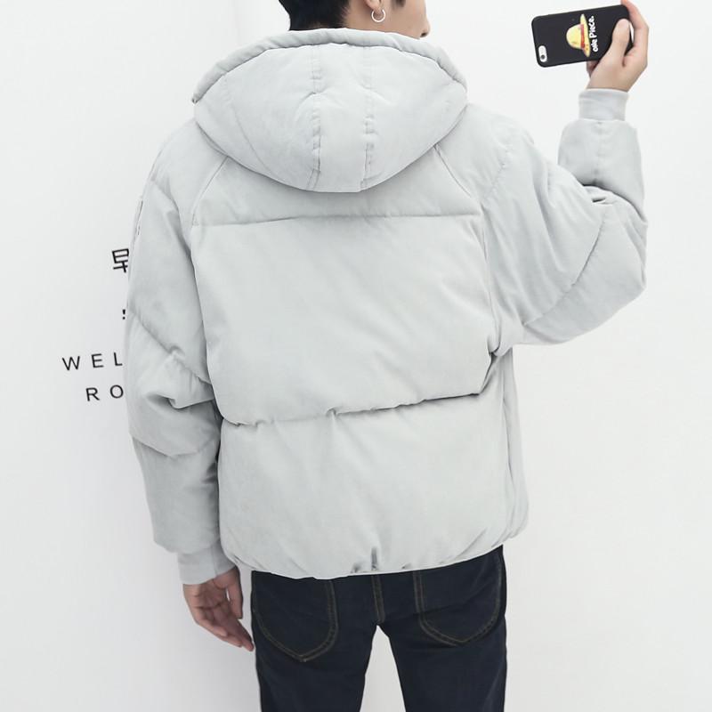 2018新款冬季男士短款青少年面包服外套韩版棉衣帅气棉服个性潮流