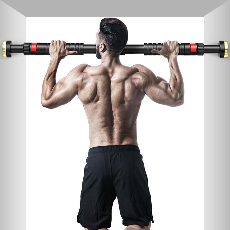單杠家用室內引體向上器牆體門上免打孔單桿體育用品弔杠健身器材
