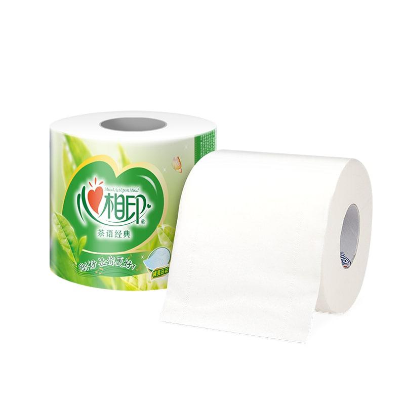 心相印卷纸有芯大卷卫生纸实惠装纸巾心心相印家用厕纸整箱批手纸