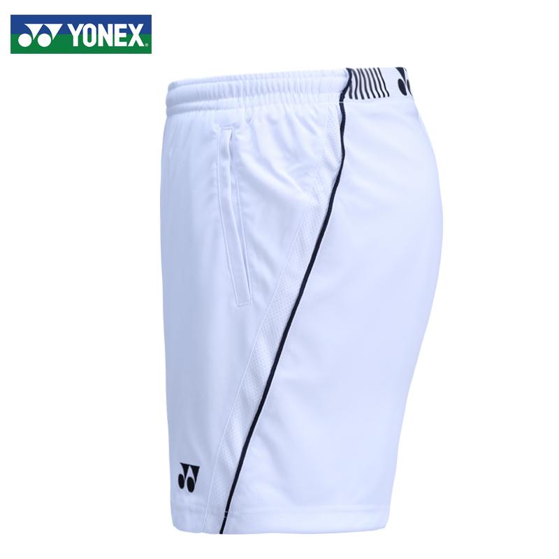 正品YONEX/尤尼克斯羽毛球服男夏季速干短裤五分裤男透气羽毛球裤