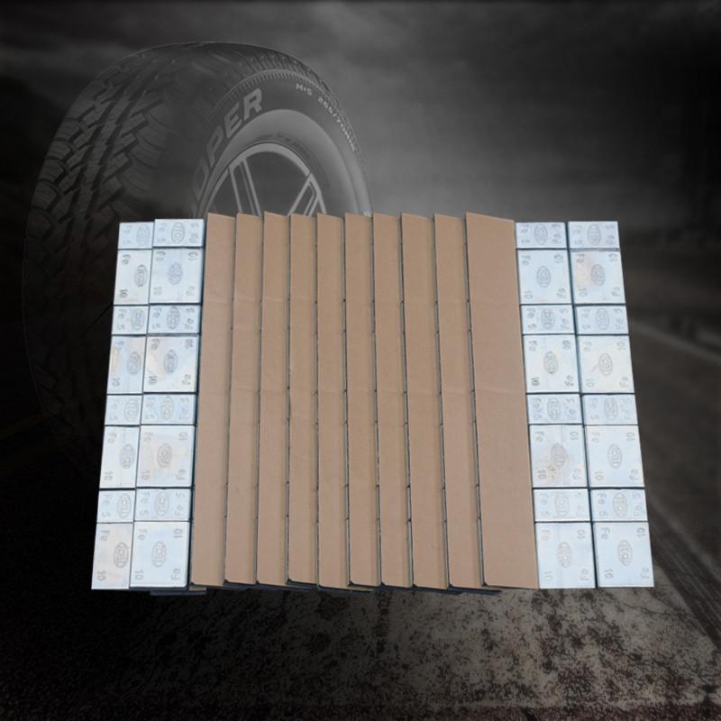 泰克汽车轮胎平衡块粘块5g 10g粘贴式动平衡胶粘轮毂平衡块配重块
