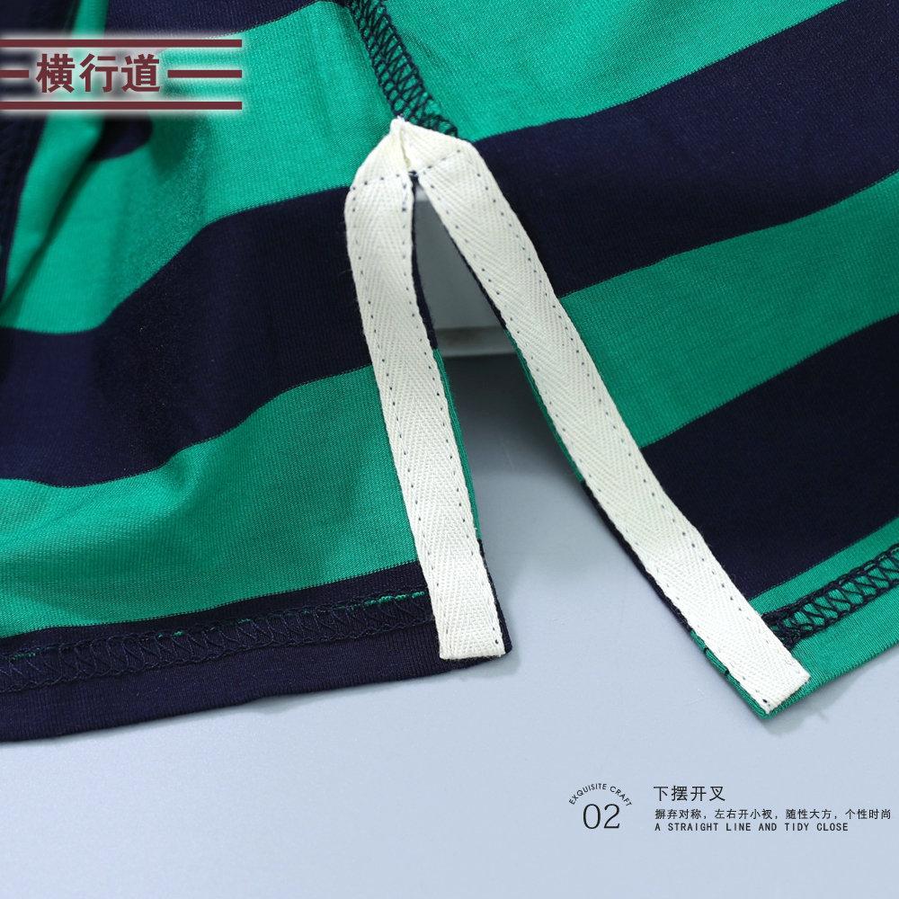 2019夏季新款韩版短袖条纹t恤女打底衫宽松显瘦体桖上衣v领半袖