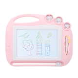 Knowledge Garden Children's magnetic drawing board to write graffiti board baby children 1-3 years old children 2 color painting erasable