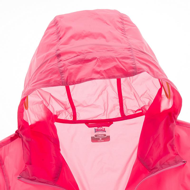 龙狮戴尔正品皮肤衣女防晒透气运动户外风衣春季女士轻薄连帽外套