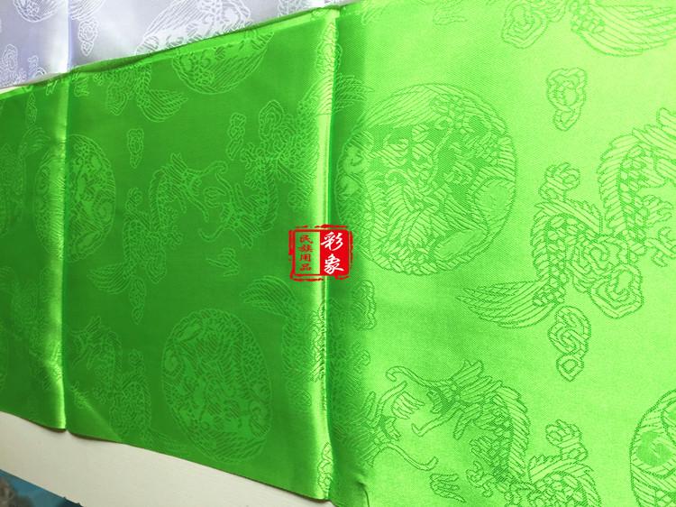 40条包邮儿童哈达西藏哈达民族用品精品提花龙凤纹哈达藏族
