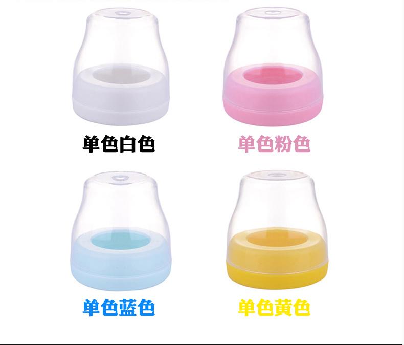 安奈小熊原装 宽口径奶瓶盖+螺牙 婴儿奶瓶密封盖 奶瓶配件pp