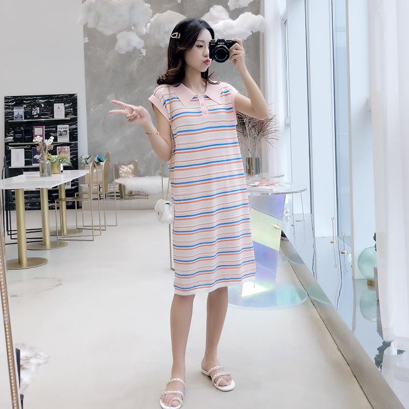 专柜品牌夏装妈咪孕妇连衣裙适合 岁穿 1820192122232425272930