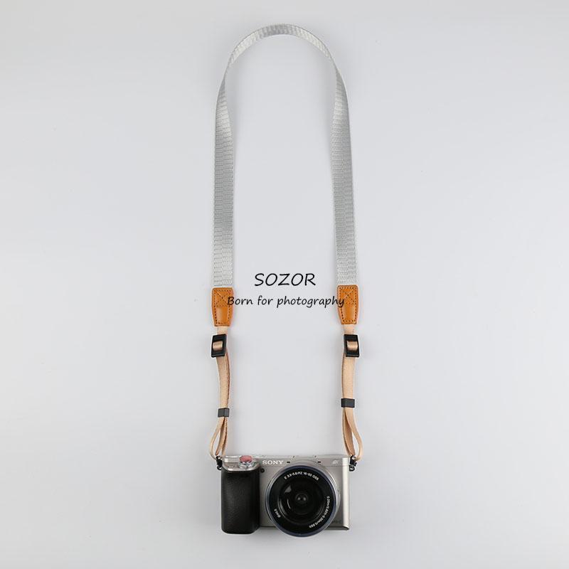 微單相機揹帶索尼RX100M6肩帶富士XF10掛繩柔軟佳能G7X2理光GR3