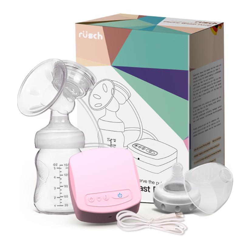 孕产妇拔奶器吸力大非手动静音 自动挤奶器吸乳器 鲁茜电动吸奶器