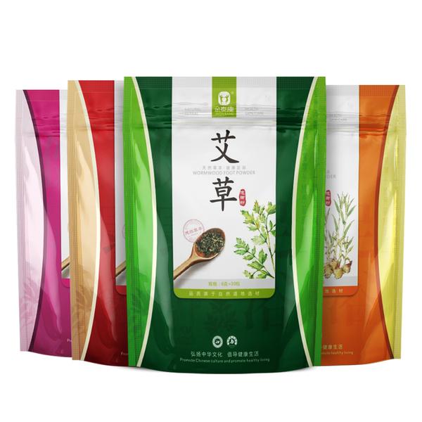 金泰康 艾草+老姜+藏红花+百草 泡脚粉 6gx30袋x4件