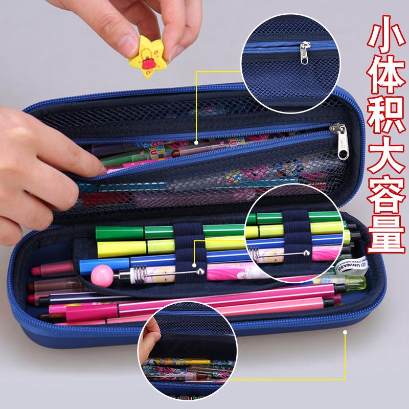 迪士尼文具盒男孩小学生新款2018笔袋多功能男童大容量儿童铅笔盒