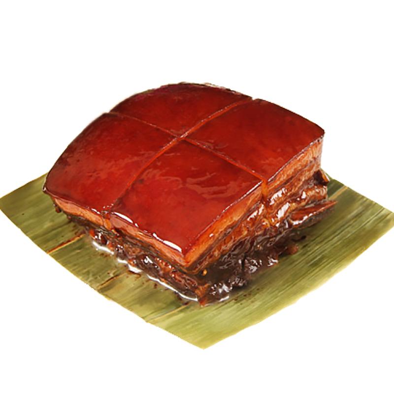 江南美食万三东坡肉周庄特产红烧肉扣肉猪肉类午餐肉熟食卤味真空