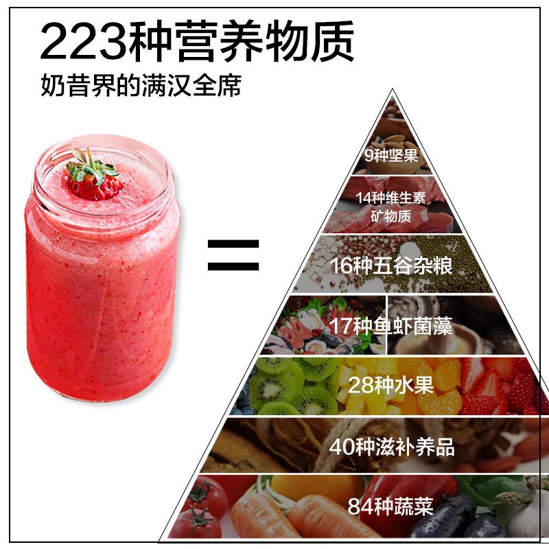 买2发3桶 芊动蛋白奶昔代餐粉 低0脂食品223种营养饱腹6h膳食纤维