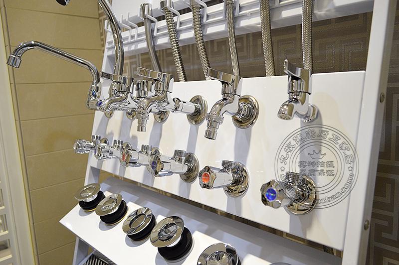 卫浴洁具多功能软管地漏展示架水龙头五金下水器展架地漏组合架子