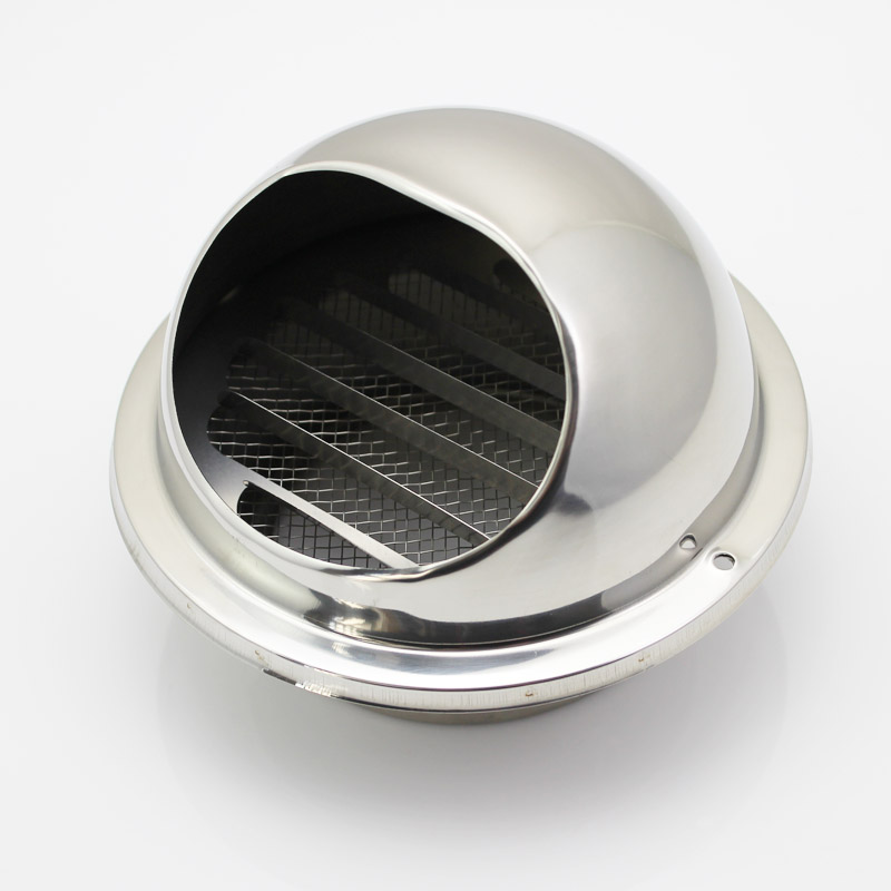 304 Stainless Steel Exterior Wall Hood Exhaust Vent
