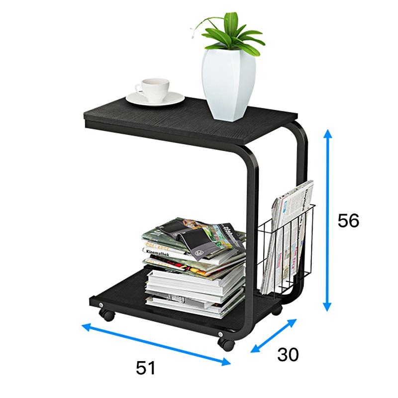 阑珊阁边几角几卧室小茶几可移动床边桌客厅迷你沙发懒人储物桌子