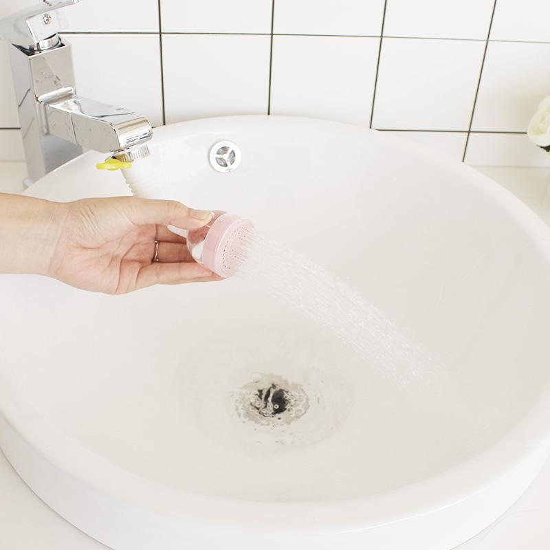 水龙头防溅头过滤嘴家用厨房花洒加长延伸器可旋转水龙头过滤器
