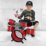 宝丽架子鼓玩具儿童鼓初学者宝宝电子琴爵士敲打乐器早教男孩3岁