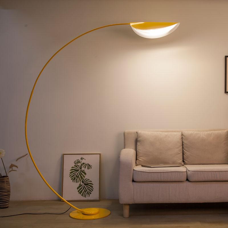 遥控客厅沙发别墅落地灯 LED 美式简约北欧后现代护眼钓鱼灯