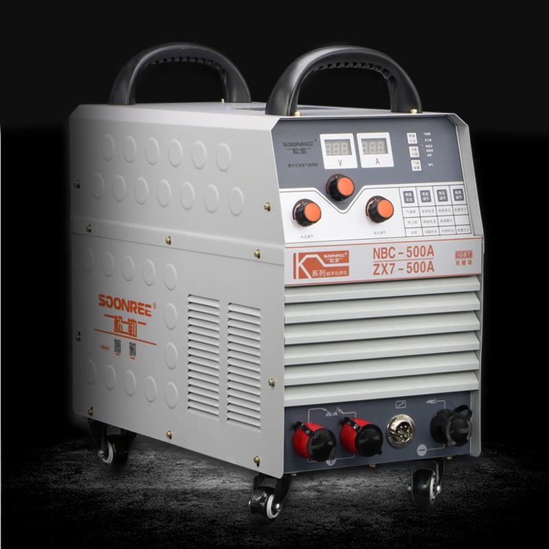 松勒二氧化碳气体保护焊机350 500分体工业二保焊机220V/380V两用