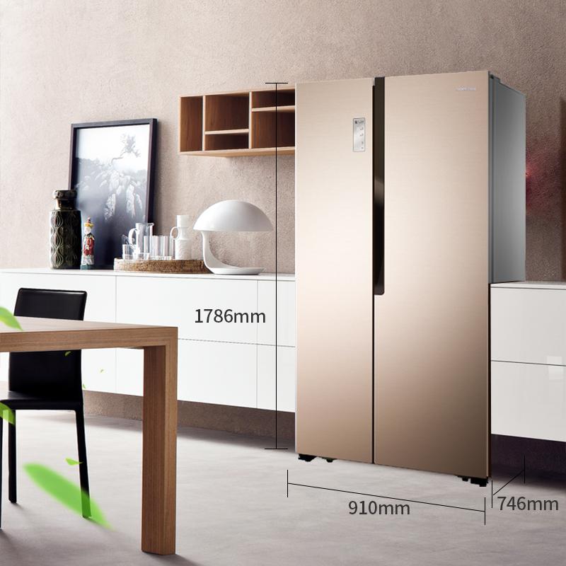 Ronshen/容声BCD-632WD11HAP双开门对开门电冰箱家用智能变频无霜