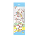 Hello Kitty individually wrapped disposable pipette bendable children of pregnant women to drink milk juice 100