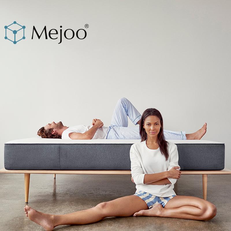 米卓 進口5cm天然乳膠床墊席夢思北歐 1.5 1.8米3D椰棕彈簧床墊