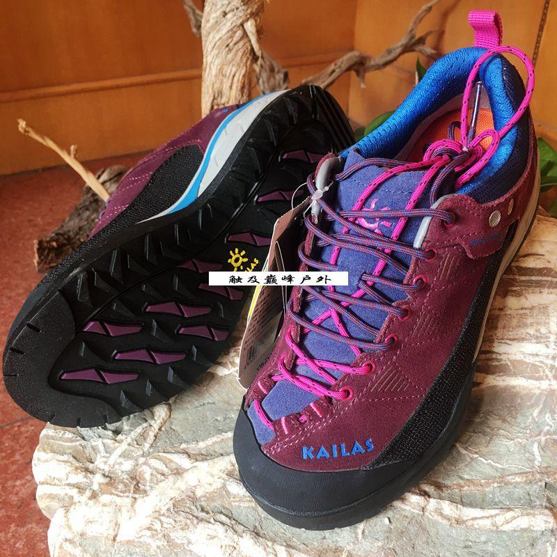 新品凱樂石戶外防水登山鞋子徒步鞋男女款低幫鞋輕便透氣防滑旅行