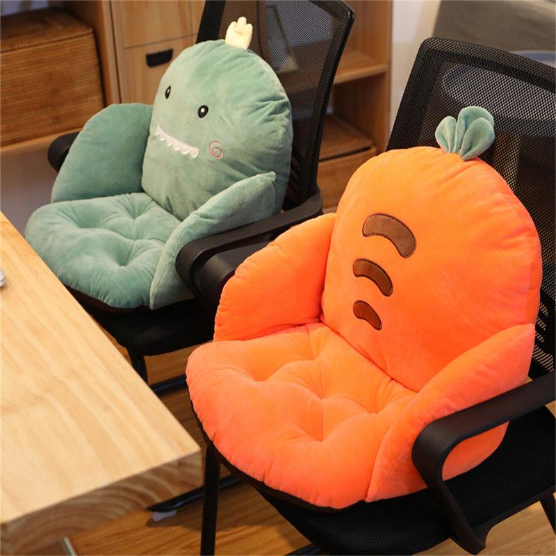 腰靠全包连体坐垫地上靠垫一体地板垫子榻榻米椅垫办公室久坐靠背