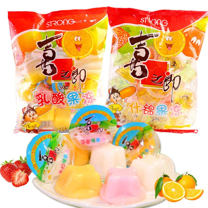 喜之郎多味什锦果汁果冻 乳酸果冻360g*5包 夏季清凉儿童零食小吃