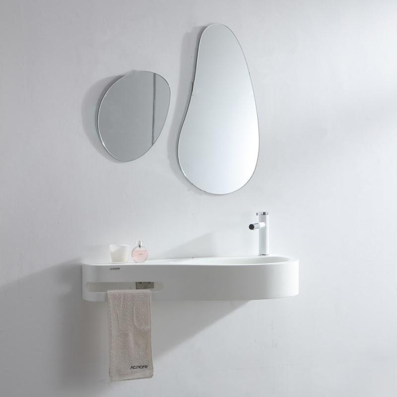 小户型洗手盆家用洗脸池卫生间挂墙式洗脸盆迷你洗手池简易洗手台