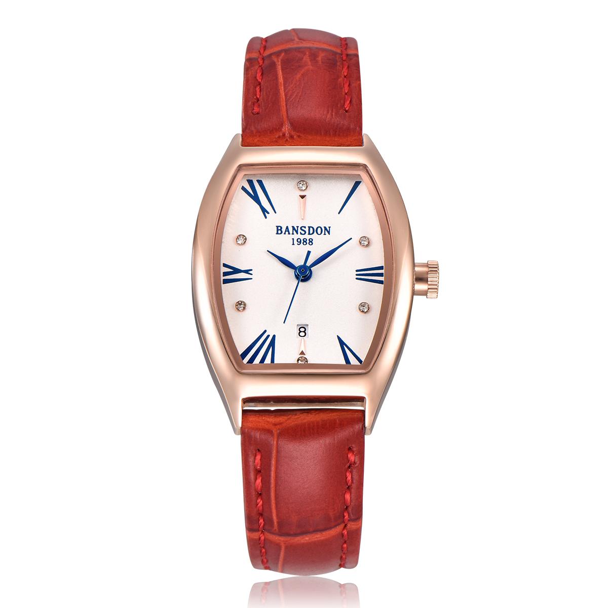 手表简约防水韩版女士学生手表复古小表盘手表女表皮带