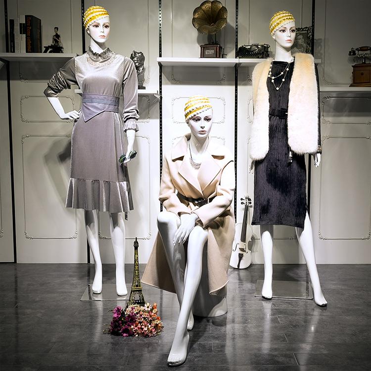服装店模特道具女全身 模特女模型女模特人体展示女装模特架道具