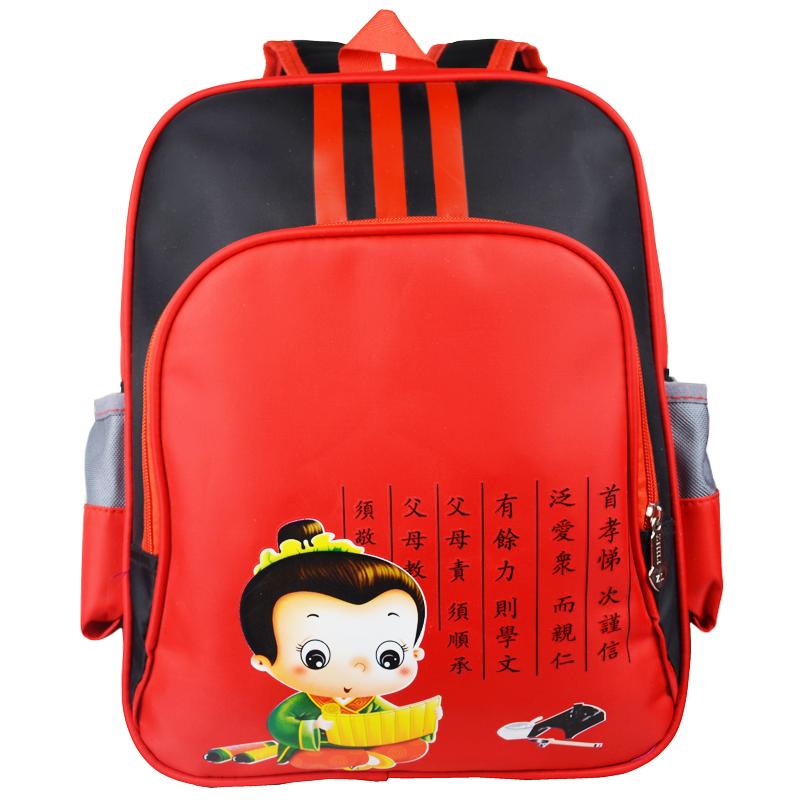 幼儿园书包厂家批量定做印字印logo广告书包培训班礼品书包