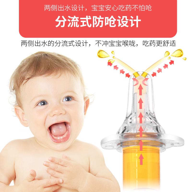 爱得利婴儿喂药器宝宝喂水器防呛滴管式儿童喝水灌药器吃药器