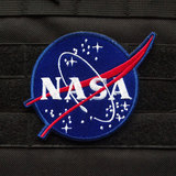 Velcro chapter Embroidery NASA NASA astronaut outdoor bag with cloth patch stickers armband