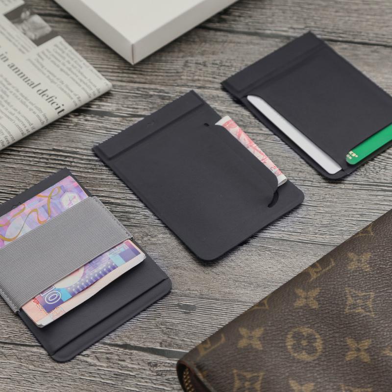 实用生日DIY创意礼物模块化轻薄磁力钱包卡包票夹送男生朋友老公