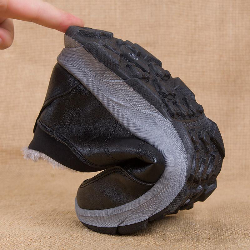 赛格鞋类旗舰店老北京布鞋老年人男人男士轻棉鞋加绒保暖软底暖鞋 - 图3