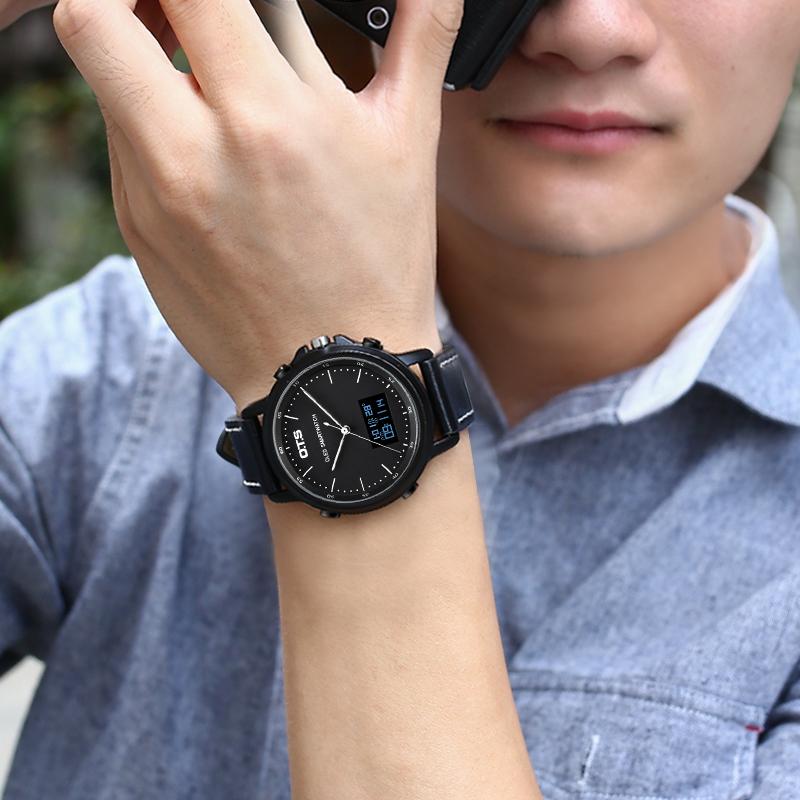 2018 新款韩版休闲账动学生多功能电子表女 智能男士手表防水时尚款