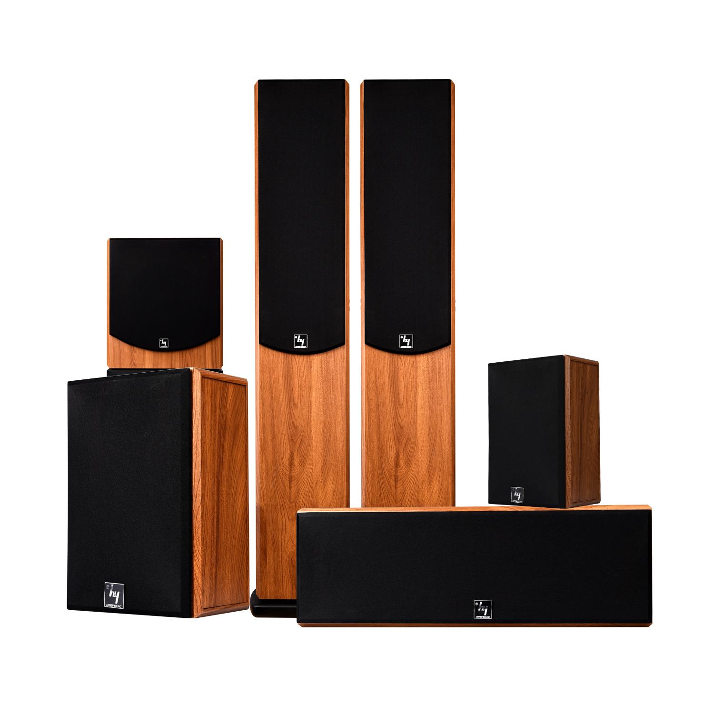音响套装 5.1 环绕音箱家庭影院 3d 客厅木质 SP6360 豪韵家用音响套装