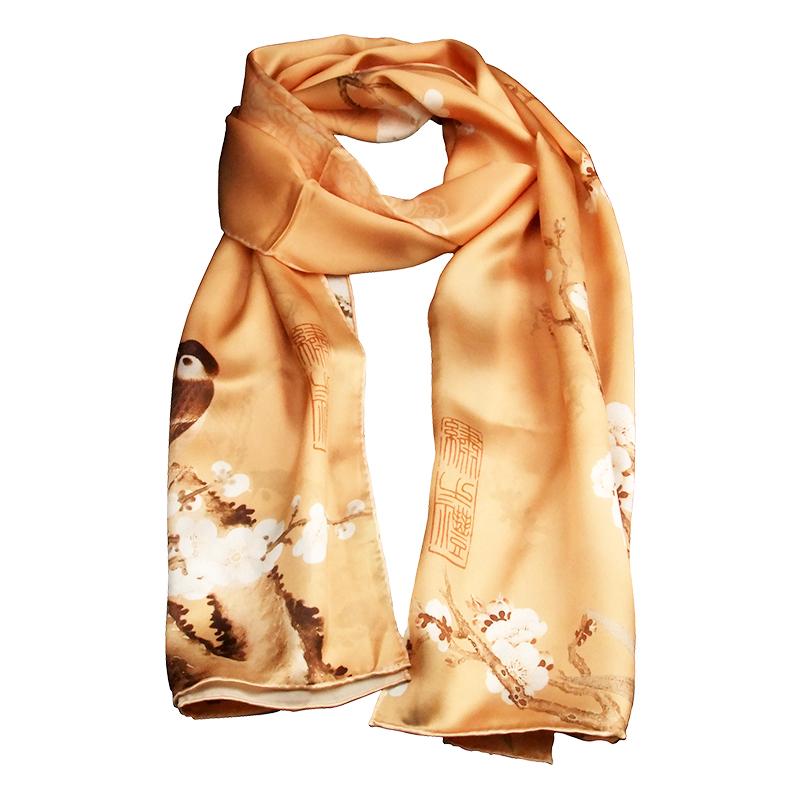 送老外风特色手工艺丝巾女士民族风礼盒外事出国商务礼品中国礼品