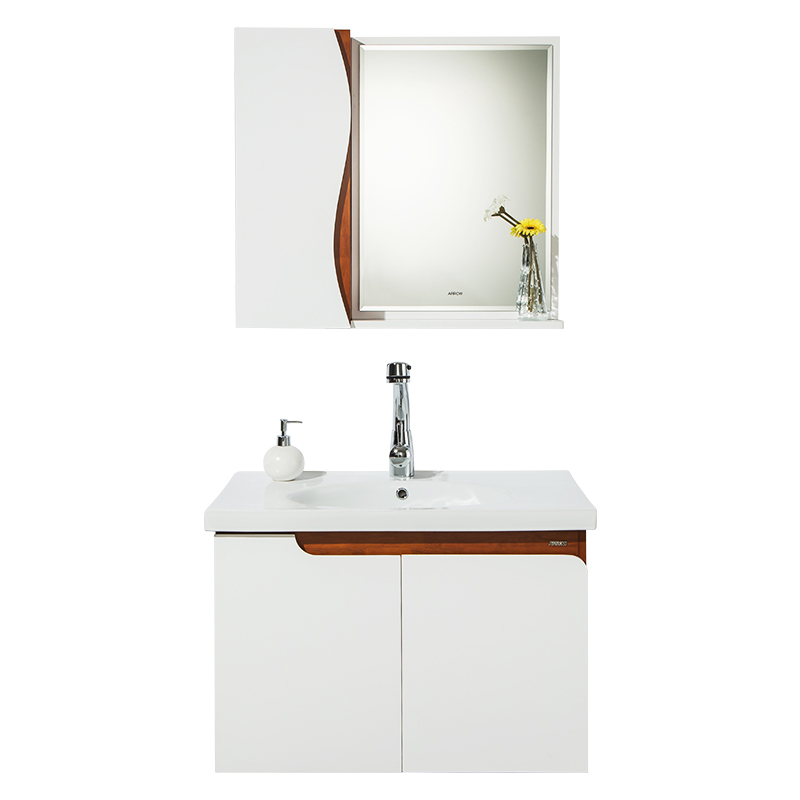 ARROW箭牌卫浴AEM8G391欧式实木浴室柜组合橡胶木挂墙台上面盆