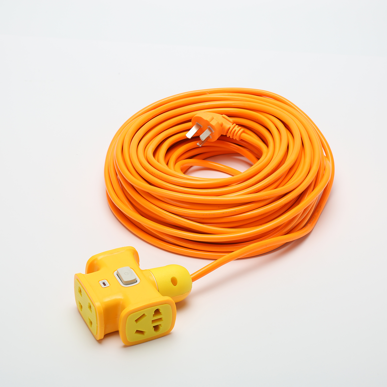 米排插 20 15 10 加长摔不烂超长插排插座电动车充电源延长线接线板