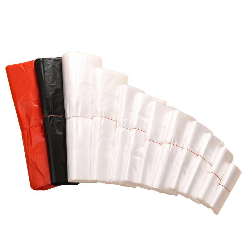 塑料袋 食品袋小一次性透明打包方便袋白色背心手提袋子定制logo