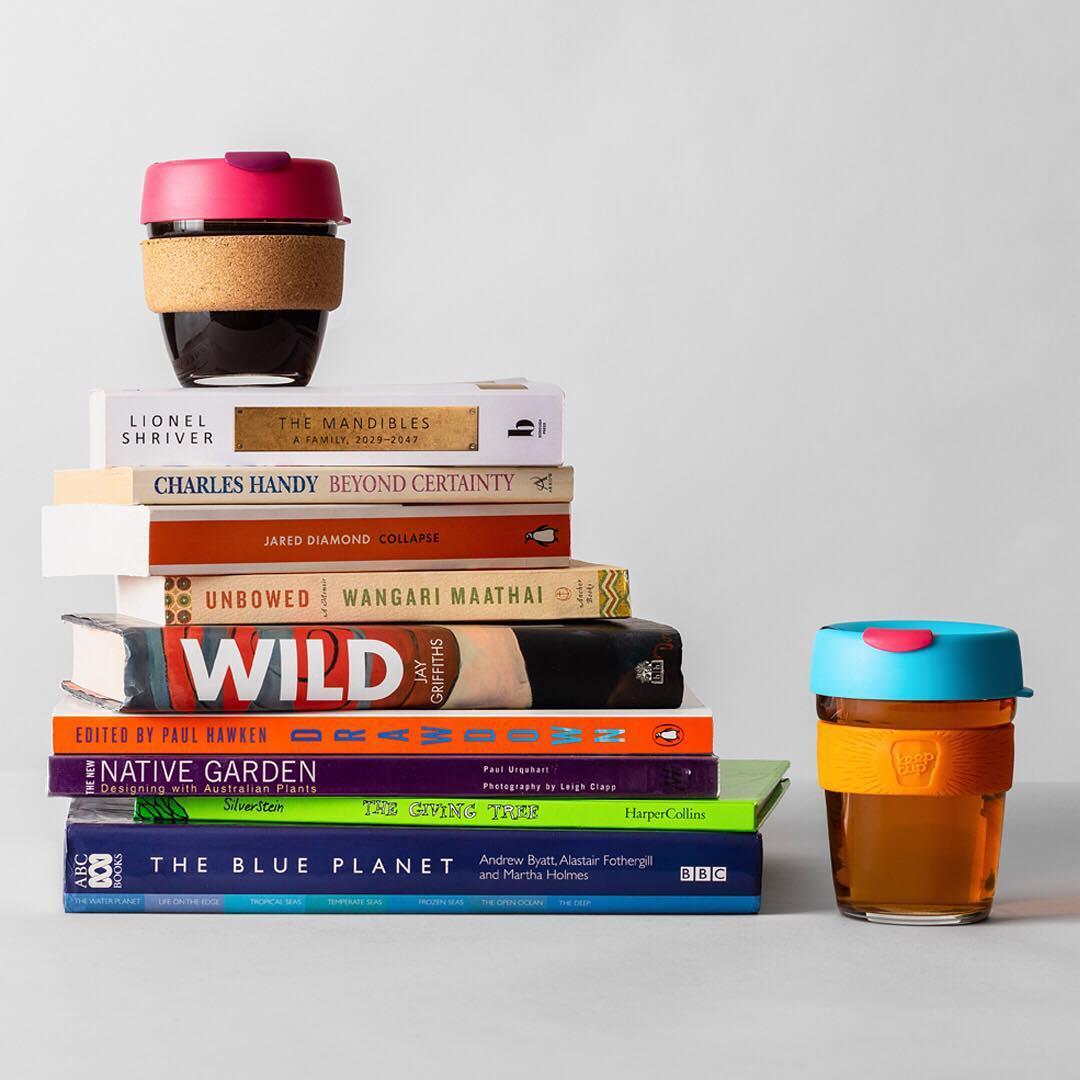顺丰澳洲KeepCup Brew钢化玻璃环保外带打包隔热随行咖啡杯吸管