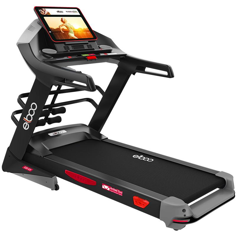 德国elboo益步A8跑步机家用款静音折叠电动室内多功能健身房专用