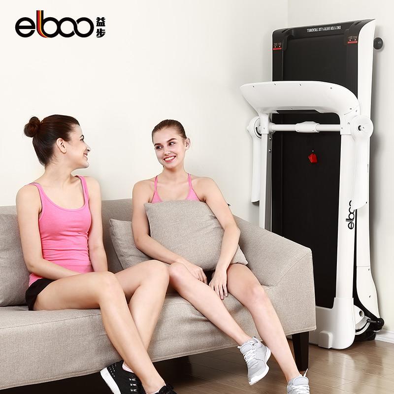 德国ELBOO益步SMART跑步机家用款超静音小型平板折叠迷你电动健身